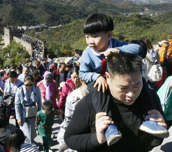800 million trips expected during China's National Day