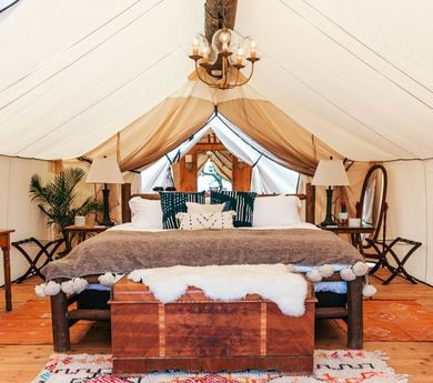 Glamping - where amazing nature meets modern luxury