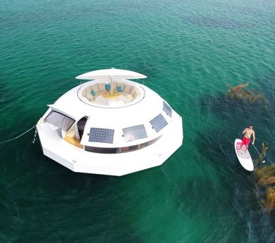 Anthénea: the world's first floating eco-hotel suite