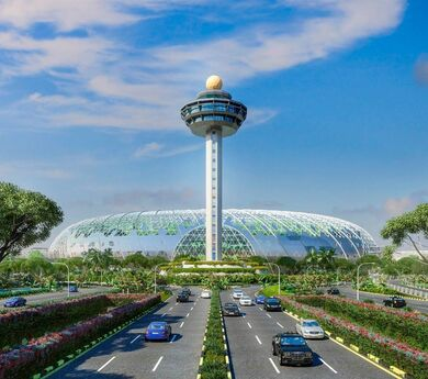 When airport contributes to building the image of national tourism