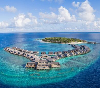 The marketing campaign to revive tourism of the Maldives
